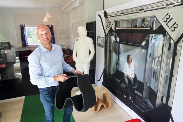 Extremsnabb 3D-printing i storformat – med svensk maskin