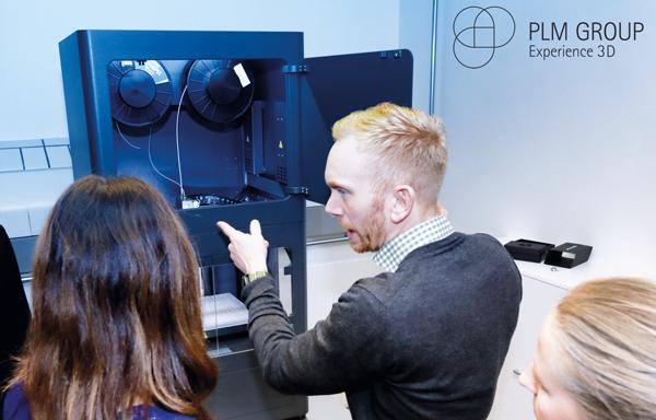 Från CAD till 3D-printing hos PLM Group