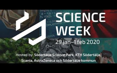 Sprider kunskap i Södertälje Science