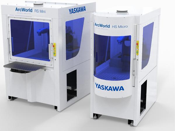 Kostnadseffektiva och kompakta robotceller