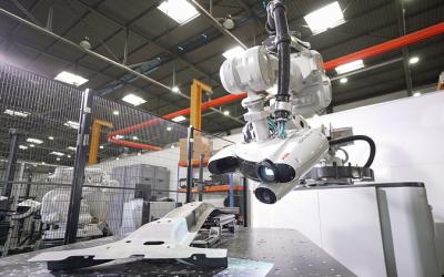 Ny robotcell för 3D-inspektion