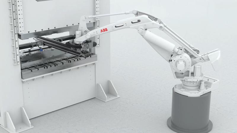 Snabb & flexibel prestanda för automatisering av plåtpressar