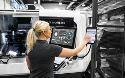 Hur Industri 4.0 kan hjälpa tillverkare att öka maskinutnyttjandet och vinsten