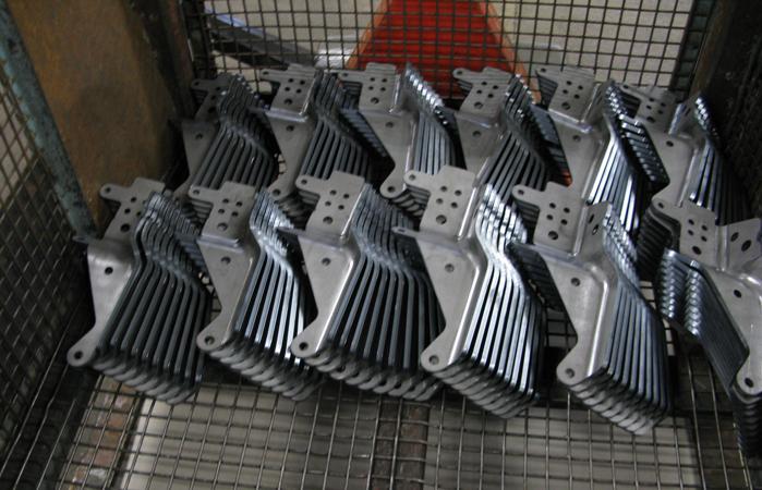 Tre D Mekaniska växlar upp med hypermodern panelbock