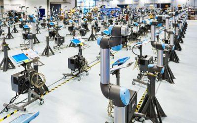 Life science och livsmedelsindustrin mesta robotköparna