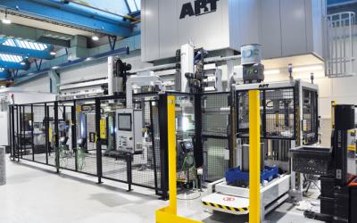 NKC Sweden framtidsinvesterar med AP&T:s presslinje för tillverkning av rullagerhållare