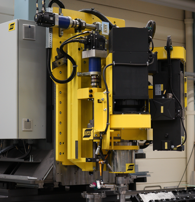 Elektromekanik är framtiden inom automatiserade svetslösningar