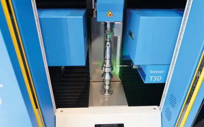 Beröringsfri mätning med Opticline C608 från Jenoptik