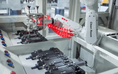 ABB:s robot IRB 1300 förbättrad med nytt skydd