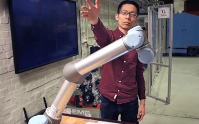 Robotar kan förutse människors kroppsrörelser