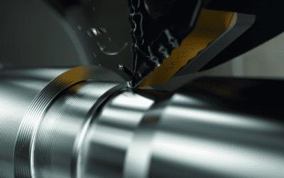 Förbättra stålsvarvningsproduktiviteten med nya hårdmetallsorter