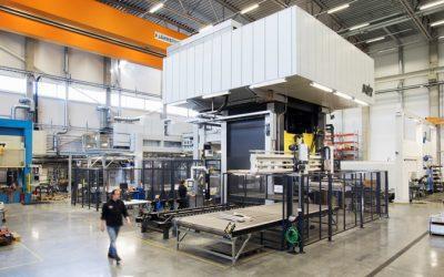 Fischer Group väljer AP&T:s lösning för varmformning av höghållfast aluminium