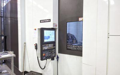 Kitamura-maskinen från Edströms ökade kapaciteten för Hultdins