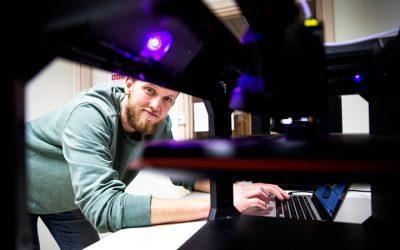 Ny utbildning i additiv tillverkning ska möta industrins stora behov