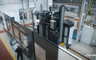 Carlstad Machinetools säljer en 8 meter lång bäddfräs till Lyckes Produktionsverktyg AB.