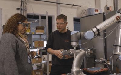 Cobot skapar morgondagens lösningar och teknikambassadörer