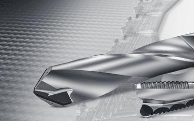 PKD (diamant) för bearbetning av komplicerade flygplansdetaljer