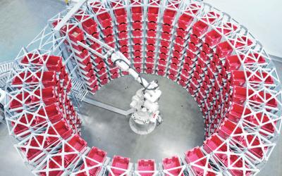 Logistikbranschen påskyndar robotautomatiseringen efter pandemin
